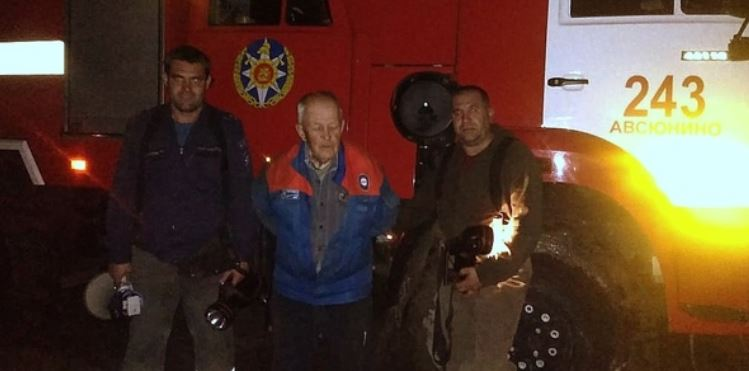 Ореховозуевские спасатели вывели из леса очередного заблудившегося грибника
