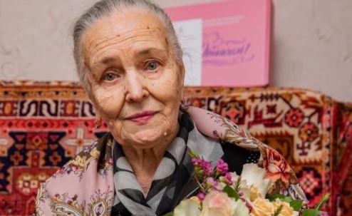 Основоположница художественной гимнастики в Орехово-Зуеве - Валентина Кострица отметила свой 85-летний юбилей