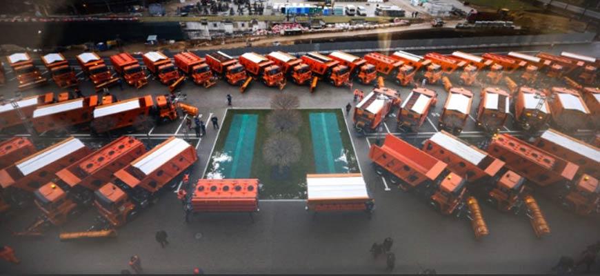 В Орехово-Зуеве появилось пять новых машин универсальной коммунальной техники