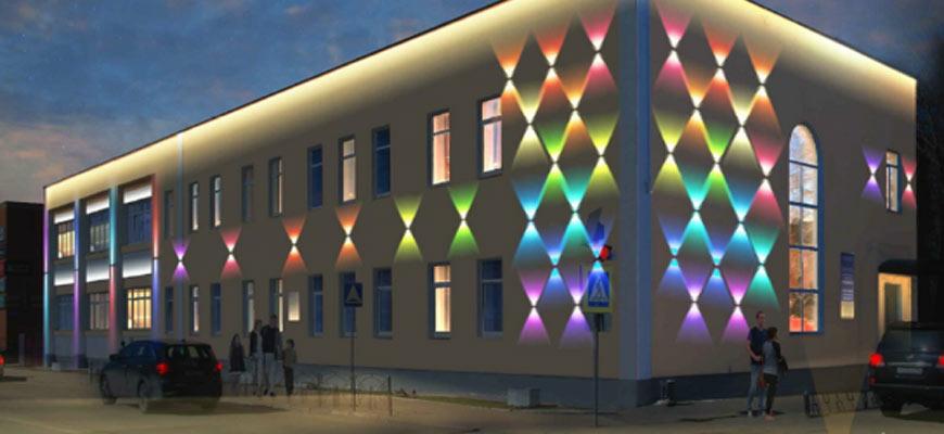 Здание ЦДТ «Родник» будет с подсветкой