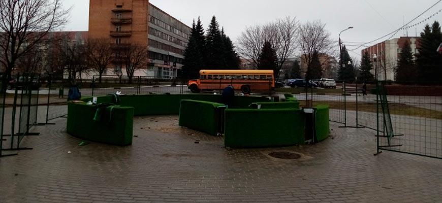 Зеленый лабиринт возвращается на Центральный бульвар