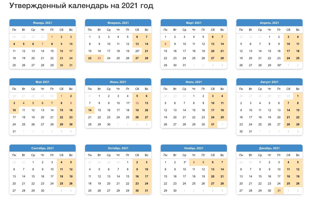 В 2021 году майские праздники будут с 1 по 10 мая